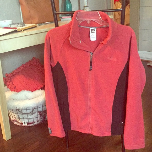 The North Face Jackets Coats Red Black Womens Jacket Poshmark